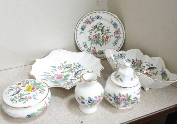 6 Pieces of Ainsley china