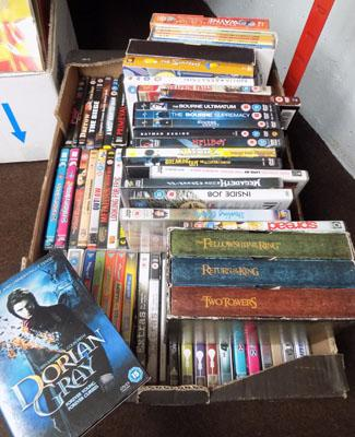 Box of DVD's & boxed sets