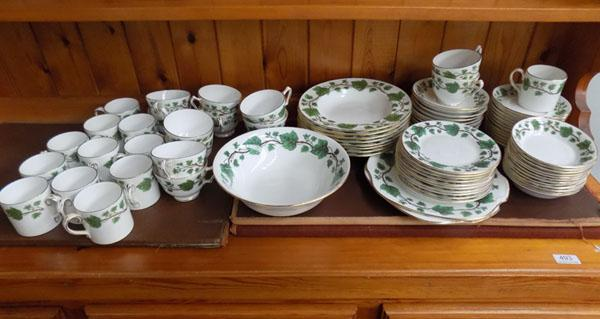 Crown Staffordshire tea service