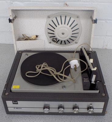 Vintage Dual record player