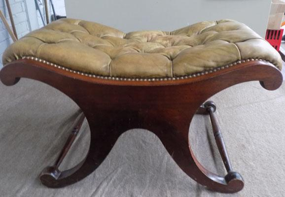 Chesterfield library foot stool