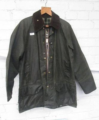 Barbour Hunter wax jacket (size L)