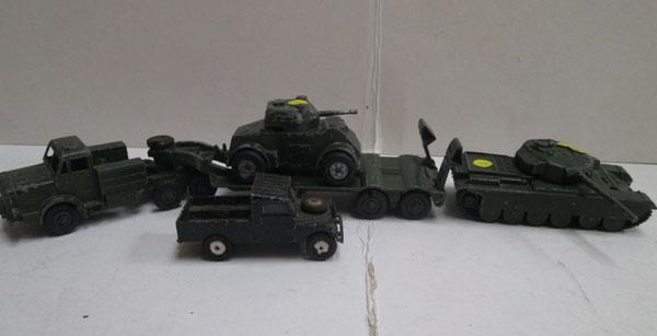 Dinky tank and others