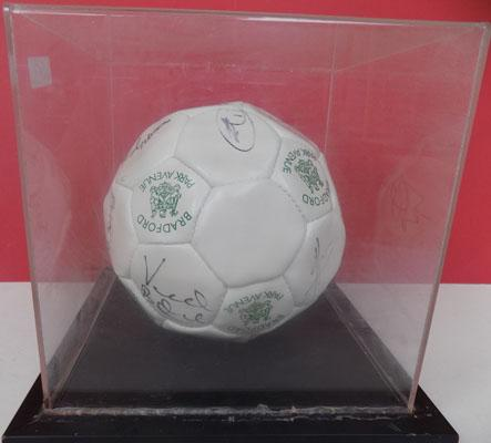 Signed Bradford Park Ave football