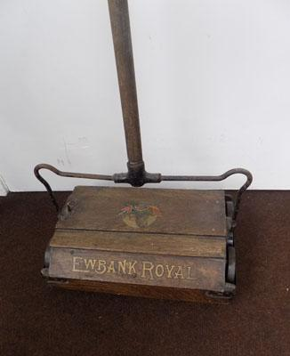 Vintage carpet sweeper
