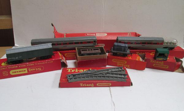 Collection of Tri-ang railway