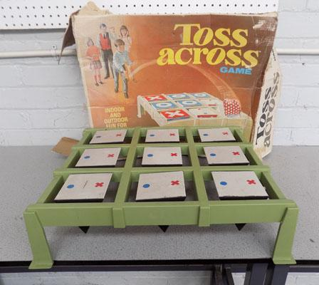 Vintage outdoor noughts & crosses game