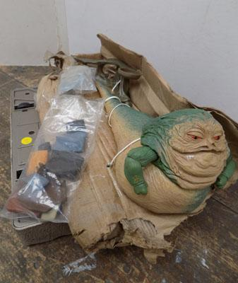 Jabba the Hut-complete 1990's