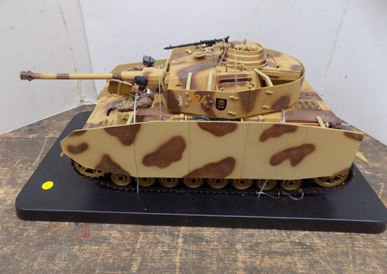 German Panther IV tank by  21st Century toys