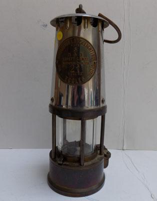 Eccles Miner's safety lamp, type 6