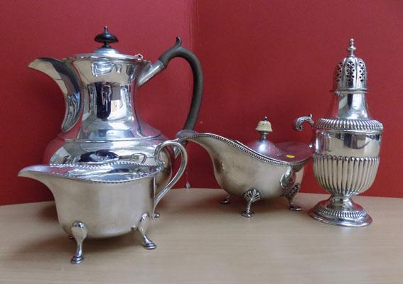 Collection of quality silver plate ware