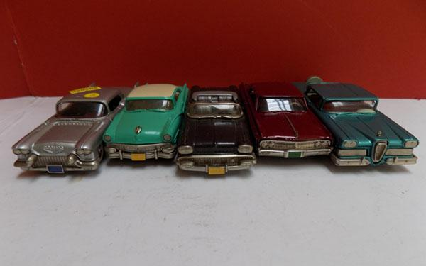 Collection of vintage Brooklin model cars