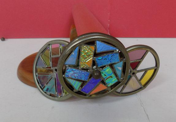 Chesnik-kock kaleidoscope with 4 crystal discs