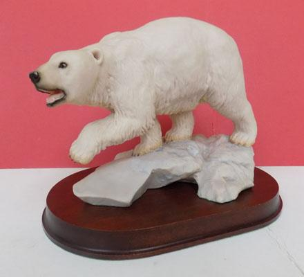 Ainsley Ltd Edition Polar Bear on Base