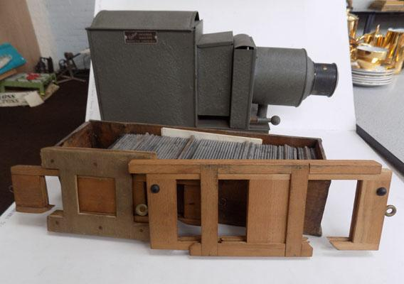 Vintage Magic lantern & slides