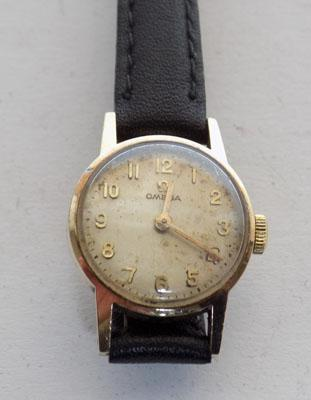 Genuine vintage 9ct Gold women's Omega watch