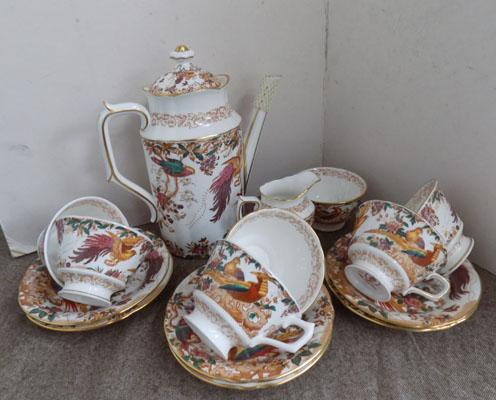 Royal Crown Derby 'Old Avesbury' coffee pot set
