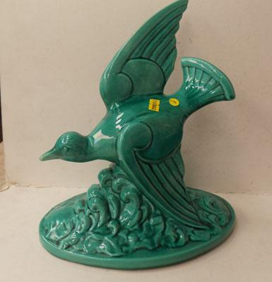 Genuine 1930's Art Deco large Sea bird