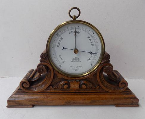 Quality antique Negretti & Zamba barometer
