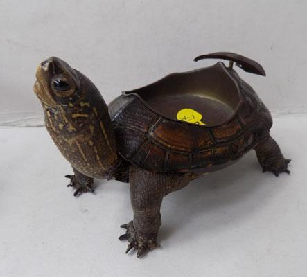 Rare Edwardian Tortoise (taxidermy) ash tray