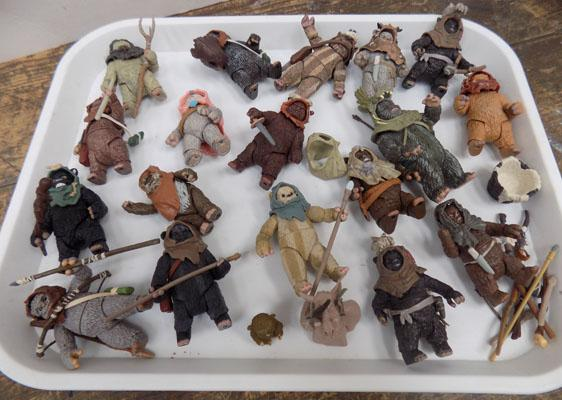 Collection of Star Wars Ewok's