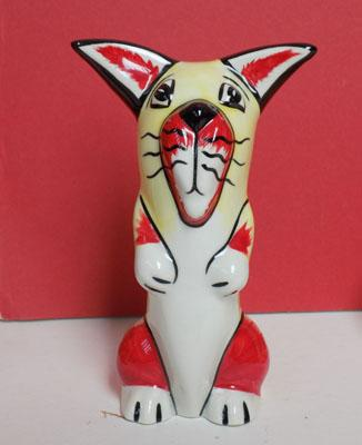 Lorna Bailey Cat Red & Yellow No1 of 1