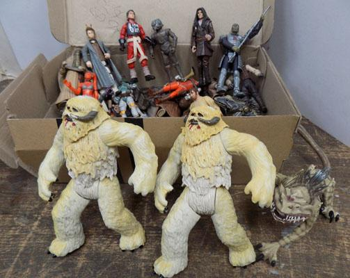 Large collection of Hasbro Star Wars figures