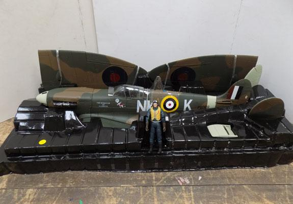 Spitfire Mark 1 NKK-missing propellors