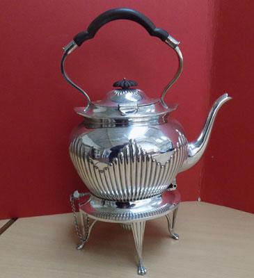 Mappin & Webb Princess Plate Spirit Kettle