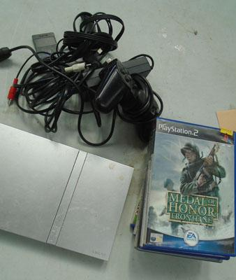 Slim PS2 and games