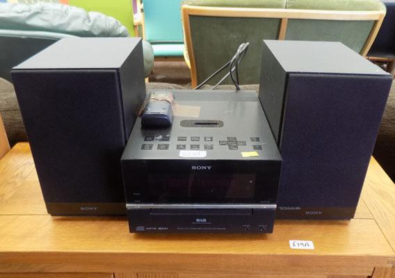 Sony stereo with remote