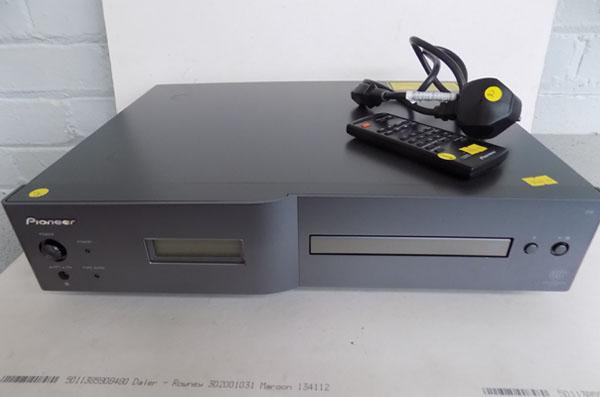 Pioneer PD-D6-J SACD player with power lead and remote (in office)