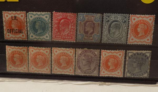 Mint Victorian & Edward VII stamps etc