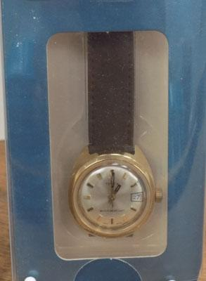 Timex watch in box