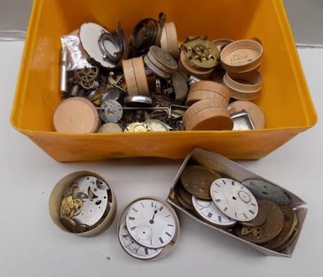 Large selection of watches, watch parts & other items