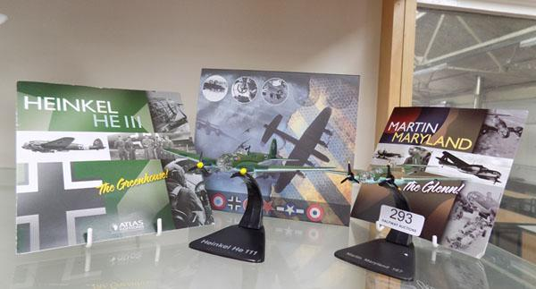2x Airfix small scale Aeroplanes in boxes