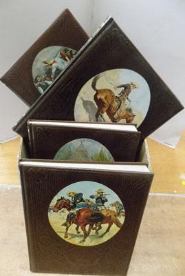 Set of 18 books-'The Old West'