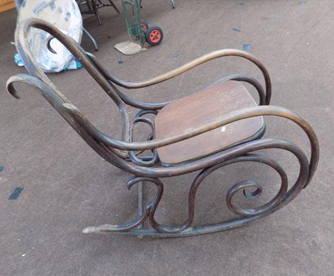 Early 1970's Rocking chair-needs restoration