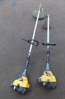 2x JCB strimmers (as seen-trade ins)