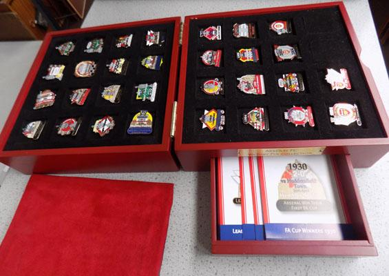 Arsenal FC Victory pin collection