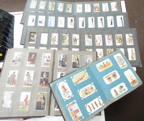 Cigarette card albums