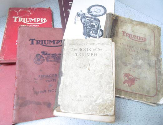 Collectable triumph books