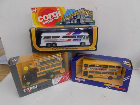3 Corgi  Buses Ltd Edition