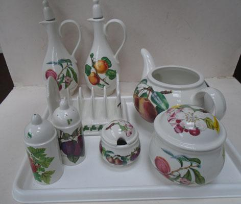 Portmeirion collection 8 pieces