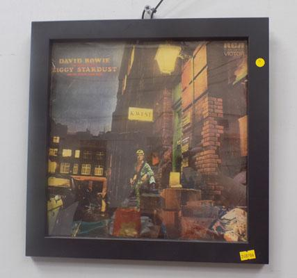 Framed David Bowie Album - Ziggy Stardust