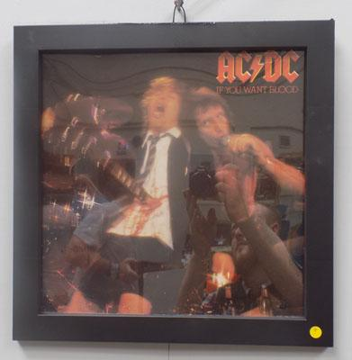 Framed ACDC - if you want blood album