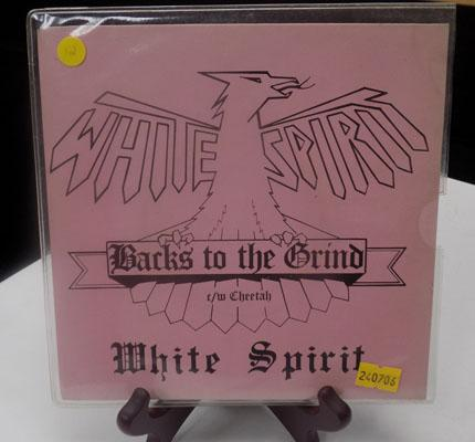 White spirit - back to the grind - signed by the band