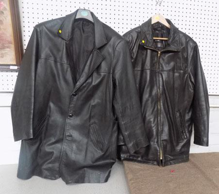 2x Leather jackets size L