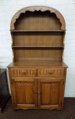 Bow top Oak unit