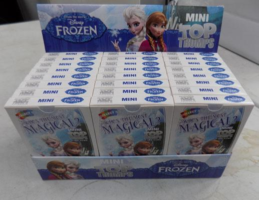 24x Frozen Top Trumps